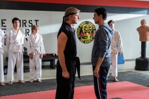 William Zabka and Ralph Macchio in 'Cobra Kai'