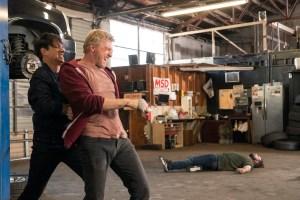 Ralph Macchio and William Zabka in 'Cobra Kai'