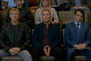 William Zabka, Martin Kove, and Ralph Macchio in 'Cobra Kai'
