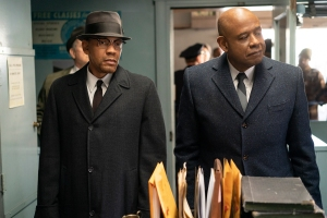 Nigel Thatch and Forest Whitaker in 'Godfather of Harlem'