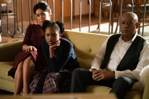 Forest Whitaker, Ilfenesh Hadera and Demi Singleton in 'Godfather of Harlem'