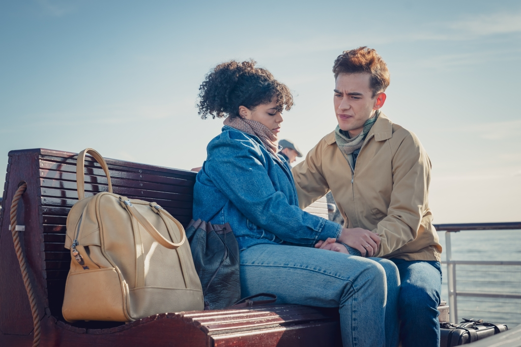 Lydia West and Olly Alexander in 'It's a Sin'