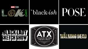 Loki Black-ish Pose A Black Lady Sketch Show The Walking Dead ATX