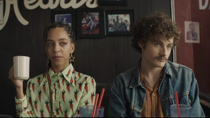 Hayley Law and Ben Rosenfield in