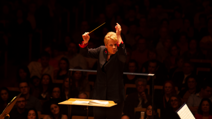 Marin Alsop in 'The Conductor'