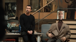Rob McElhenney and F. Murray Abraham in 'Mythic Quest'