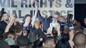 Larry Krasner and wife Lisa Rau in 'Philly D.A.'