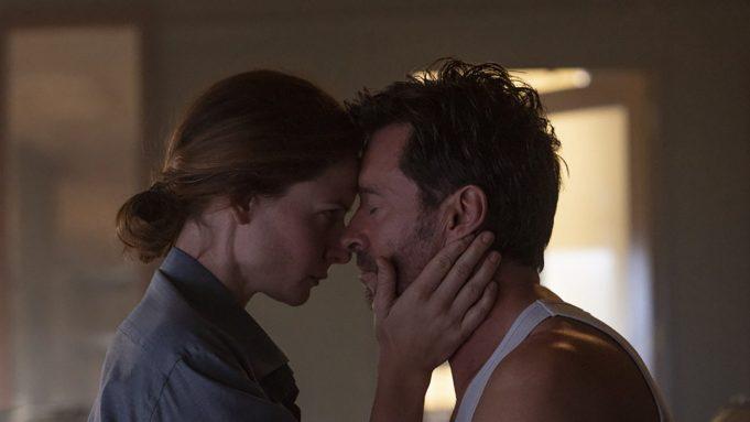 Rebecca Ferguson and Hugh Jackman in