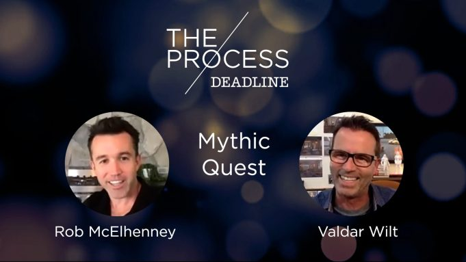 'Mythic Quest's Rob McElhenney and Valdar