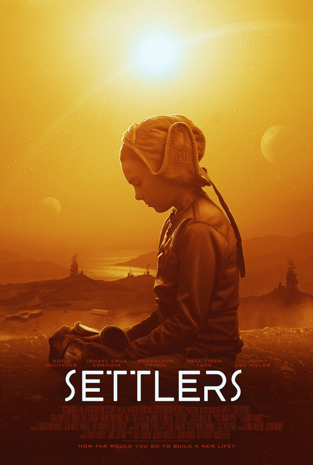'Settlers' poster