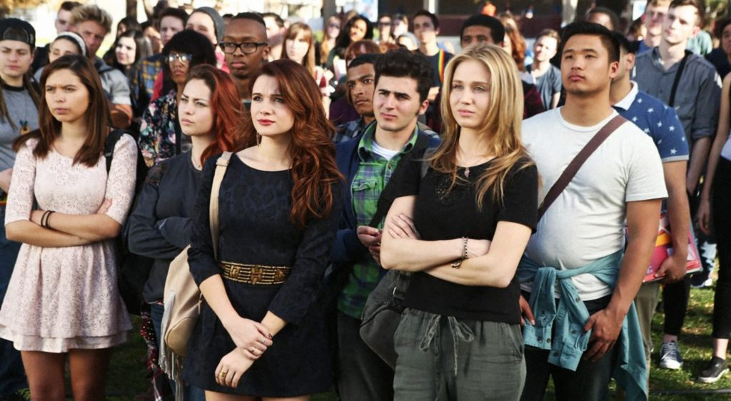 """'Faking It' Reunion: EP Carter Covington Says Show With Groundbreaking Representation & """"Challenging Premise"""" Would Be More Difficult To Get Made Today – ATX.jpg"""