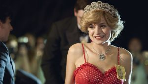 Emma Corrin in 'The Crown'