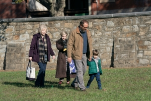 Jean Smart, Angourie Rice, David Denman, and Izzy King in 'Mare of Easttown'