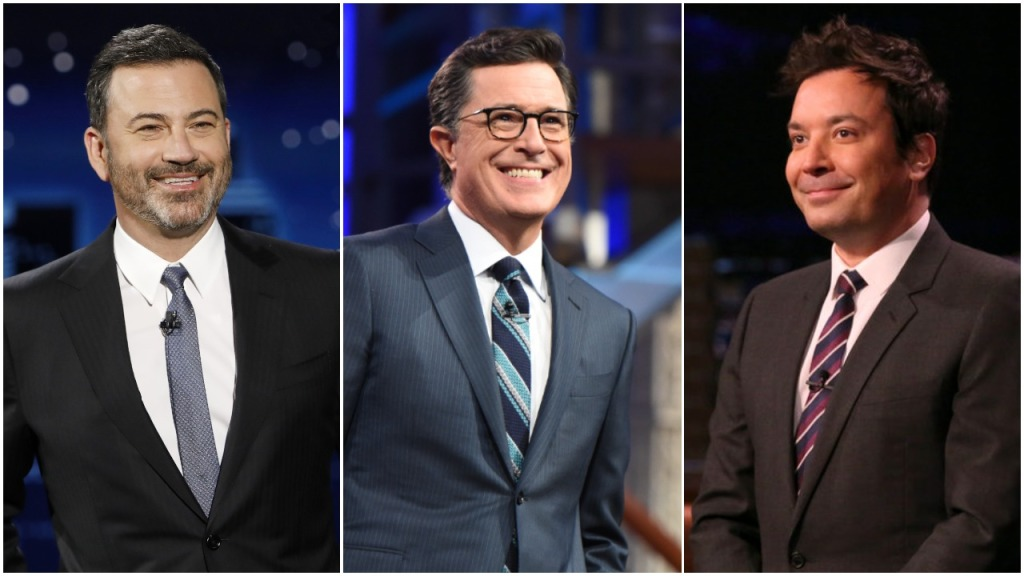 Late-Night Ratings: 'The Late Show' Wins Season For Fifth Consecutive Year As Battle Between Seth Meyers & James Corden Heats Up.jpg