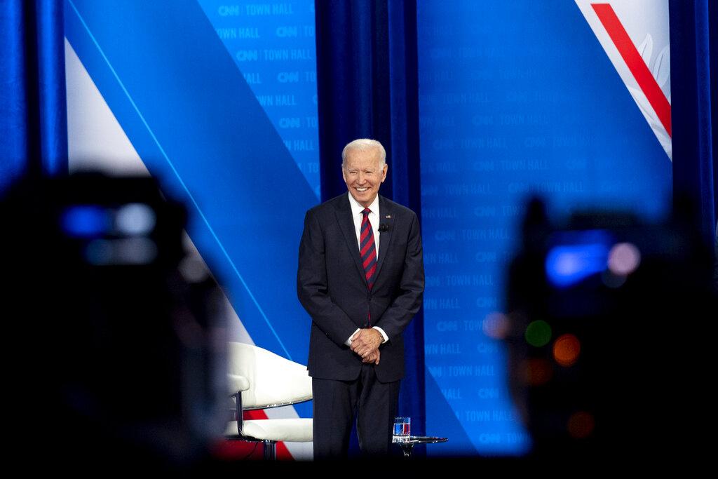 CNN's Joe Biden Town Hall Trails Fox News, MSNBC In Total Viewers; Audience Falls More Than 50% Vs. February Event.jpg