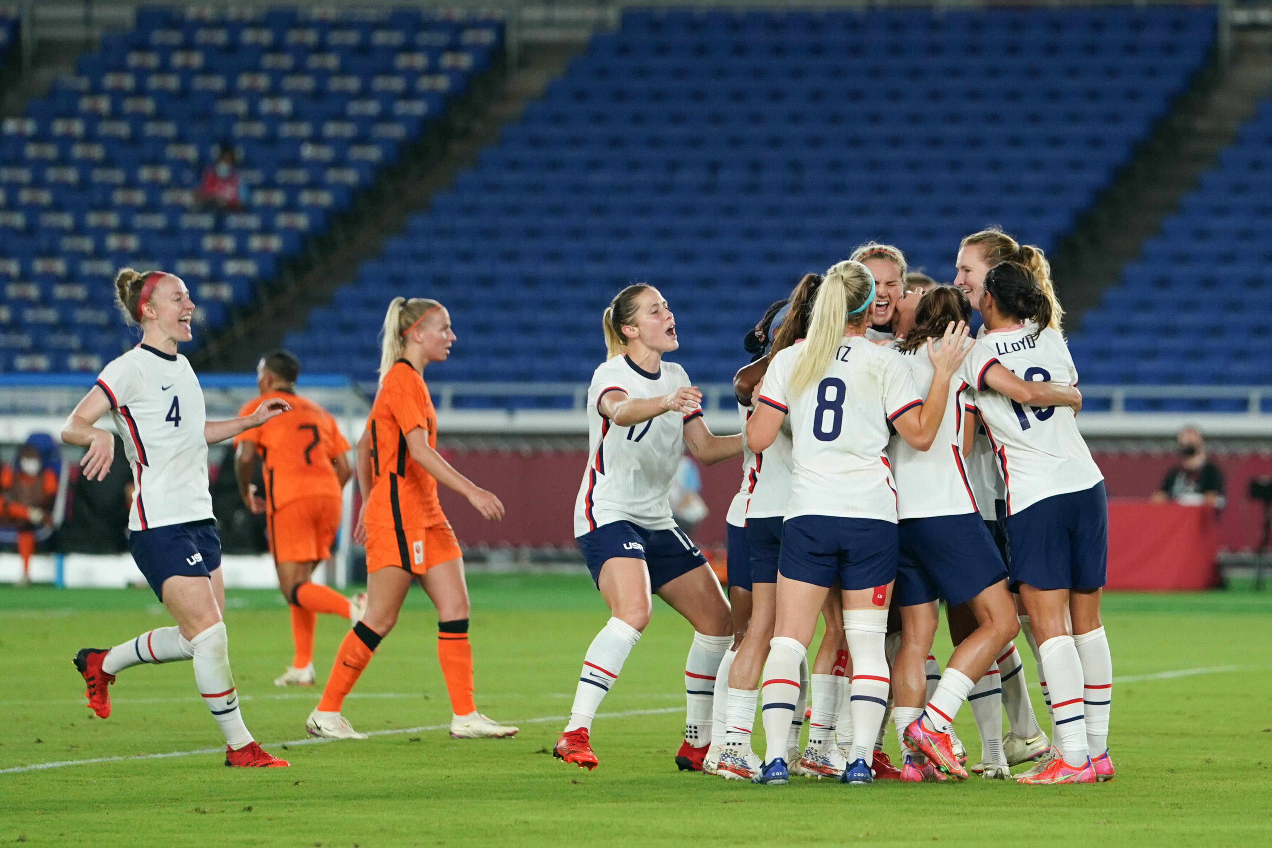US Women's Soccer Team Through To Tokyo Olympic Semi-Final After Penalty Drama