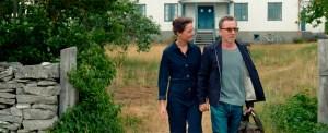 Vicky Krieps and Tim Roth in 'Bergman Island'