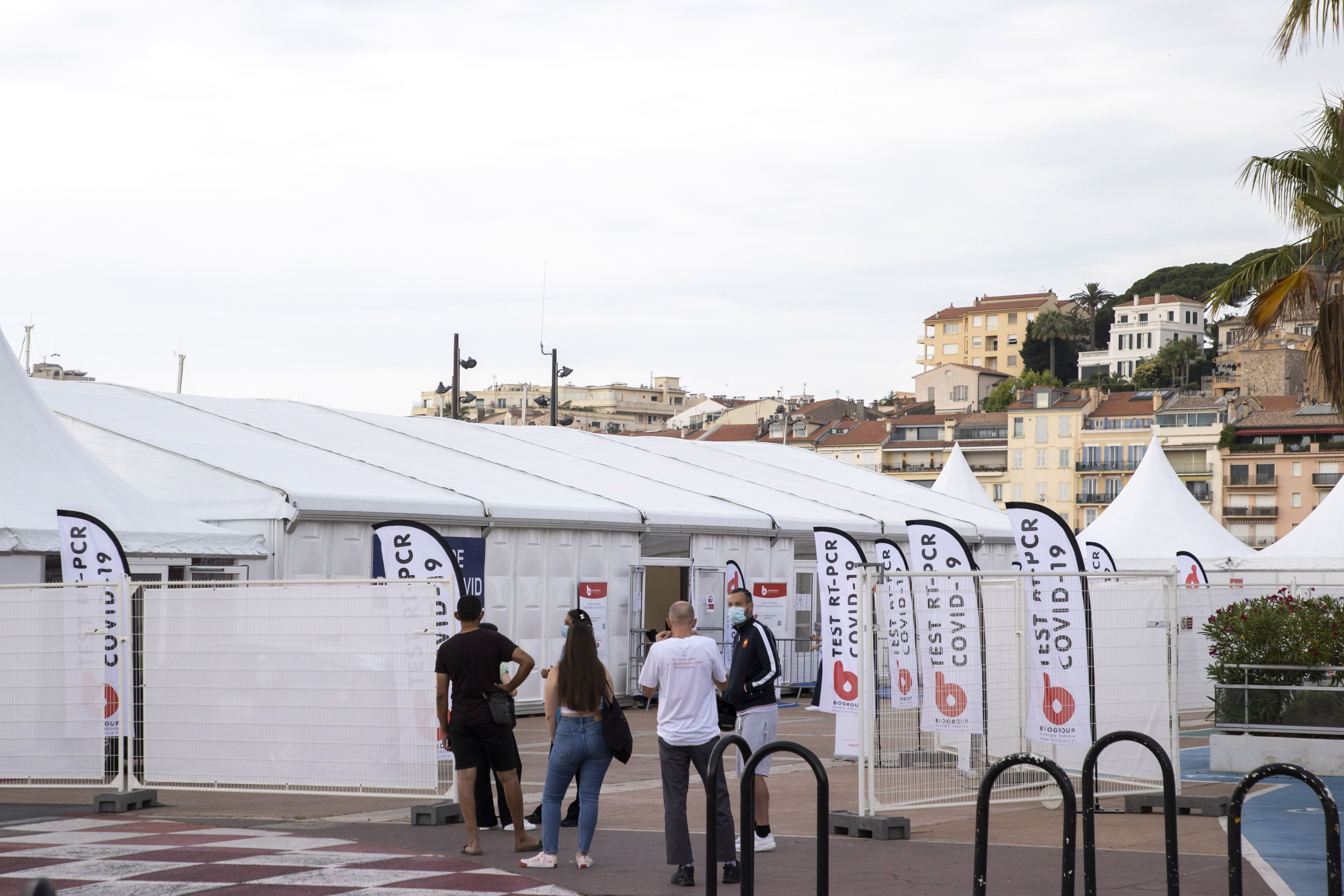 Cannes Covid Testing