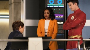 Jessica Parker Kennedy, Candice Patton and Grant Gustin on 'The Flash'