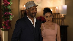 Jesse L. Martin and Danielle Nicolet on 'The Flash'