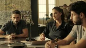Doron Ben-David, Rona-Lee Shim'on, and Idan Amedi in 'Fauda'
