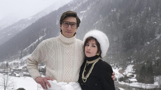 Adam Driver and Lady Gaga in