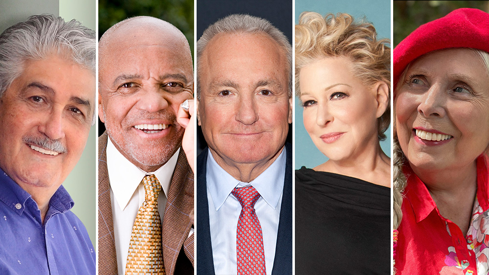 Kennedy Center Announces Next Honorees: Joni Mitchell, Bette Midler, Berry Gordy, Lorne Michaels And Justino Díaz.jpg