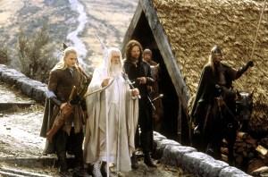 Orlando Bloom, Ian McKellen, Viggo Mortensen in 'The Lord of the Rings: The Return of the King'