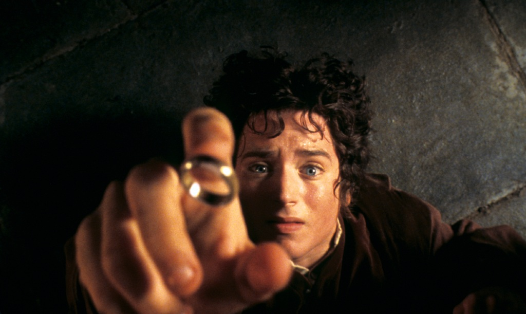 Elijah Wood in 'The Lord Of The Rings'