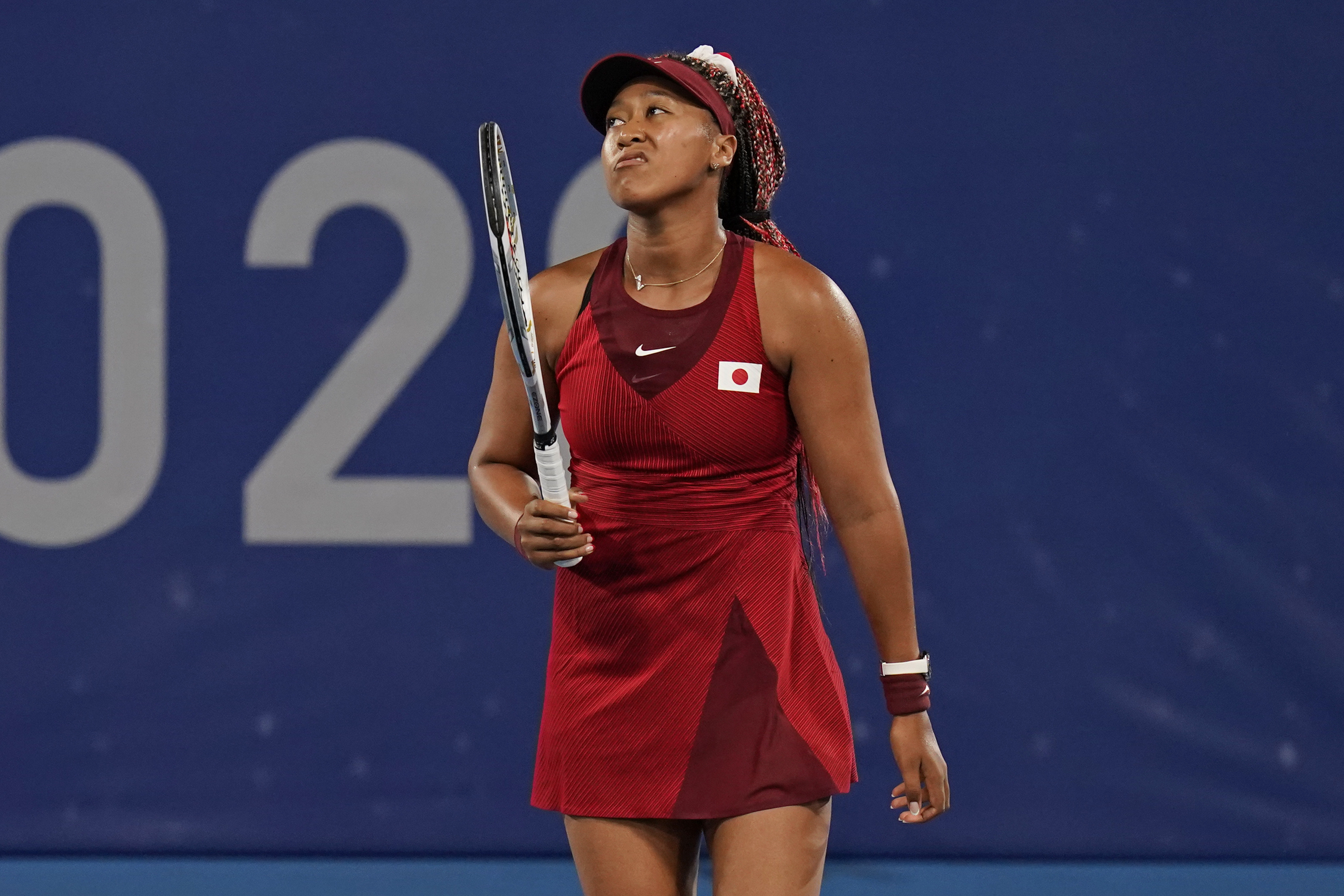 Naomi Osaka Out Of Tokyo Olympics After Shocking 3rd Round Loss