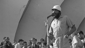 Dick Gregory performing