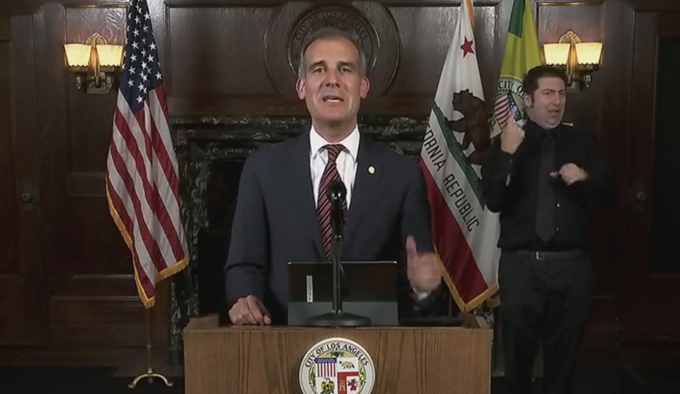 Garcetti Announces Los Angeles Is Requiring Vaccines Or Weekly Testing For All City Workers; Pursuing Full Mandate