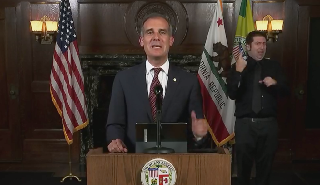 Garcetti Announces Los Angeles Is Requiring Vaccines Or Weekly Testing For All City Workers; Pursuing Full Mandate.jpg