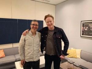 Conan O'Brien John Oliver
