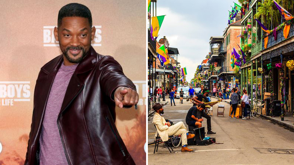 Will Smith Celebrates Independence Day By Helping To Pay 0K For New Orleans' Fireworks Display