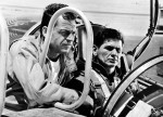 X-15, from left: David McLean, Charles Bronson, 1961