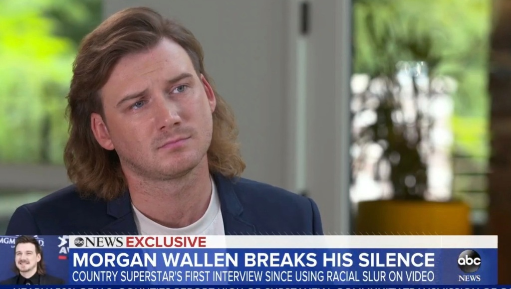 'GMA': Country Singer Morgan Wallen Pleads Ignorance And Contrition In Racial Slur Incident, Writes $500,000 Check.jpg
