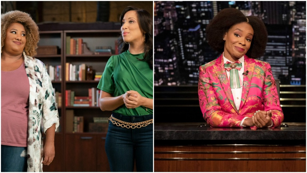 'The Amber Ruffin Show' & 'A Black Lady Sketch Show' Break Into Late-Night/Variety Writing Emmy Category As Ashley Nicole Black Competes Against Herself.jpg