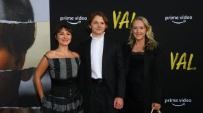 Mercedes Kilmer, Jack Kilmer and Jennifer Salke of Amazon Studios