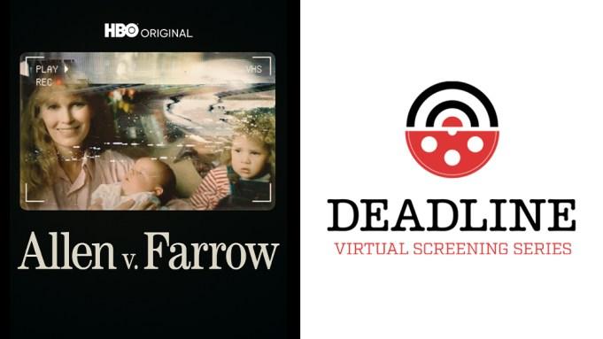 HBO Allen Farrow Deadline Virtual Screening