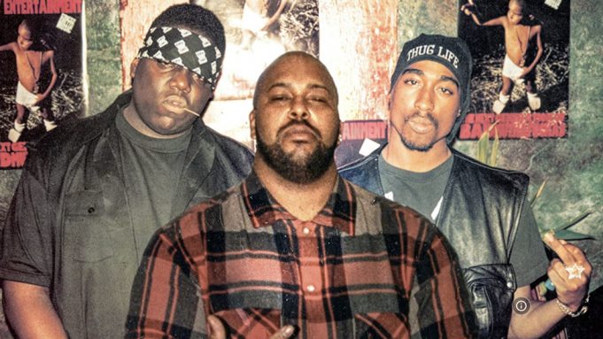 Biggie Smalls, Suge Knight and Tupac