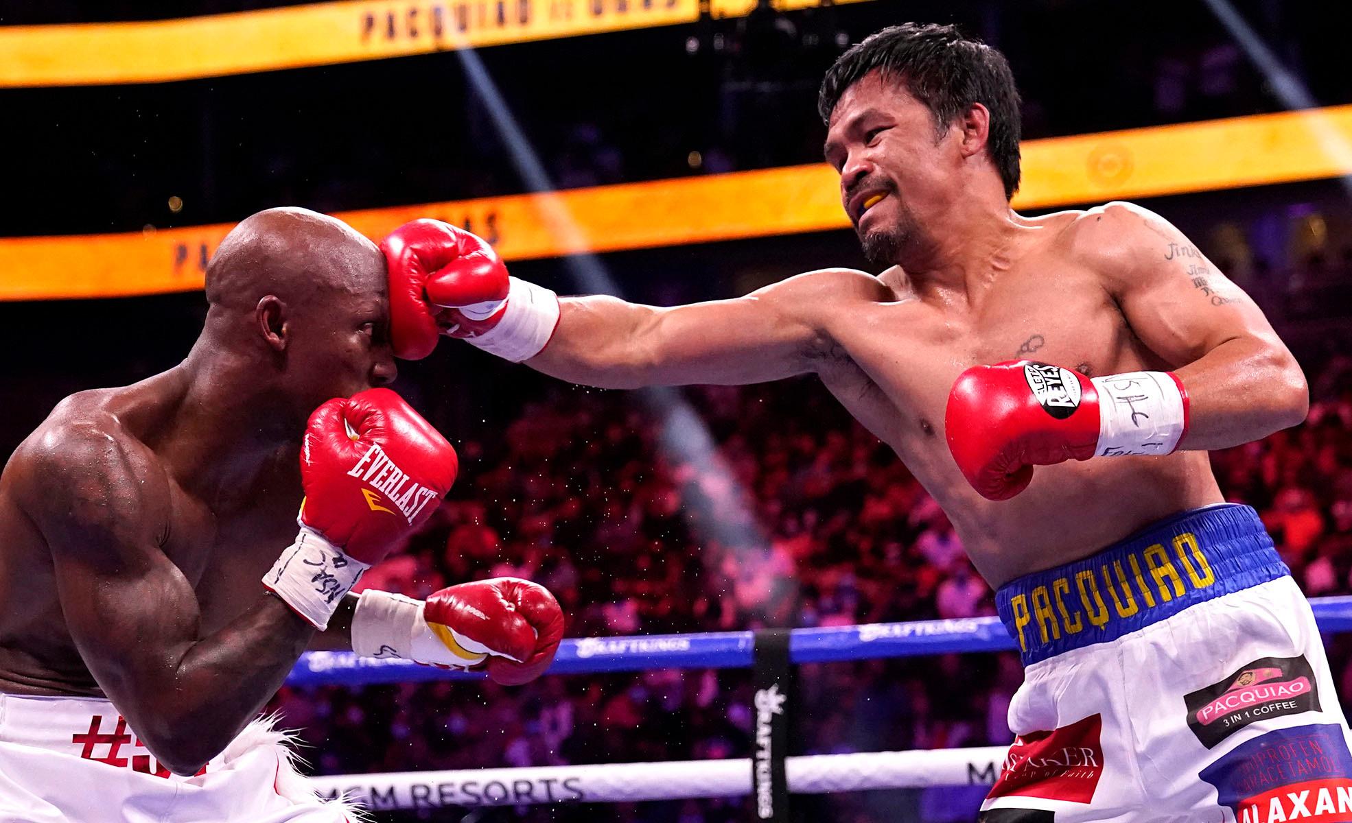 Philippines : l'ancien boxeur Manny Pacquiao candidat à la présidence de 2022