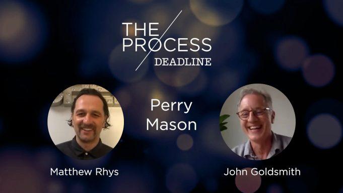 Matthew Rhys and 'Perry Mason' production