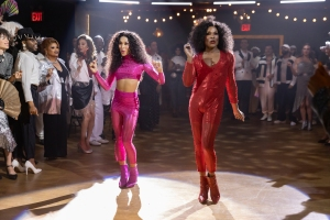 Mj Rodriguez and Billy Porter in 'Pose'