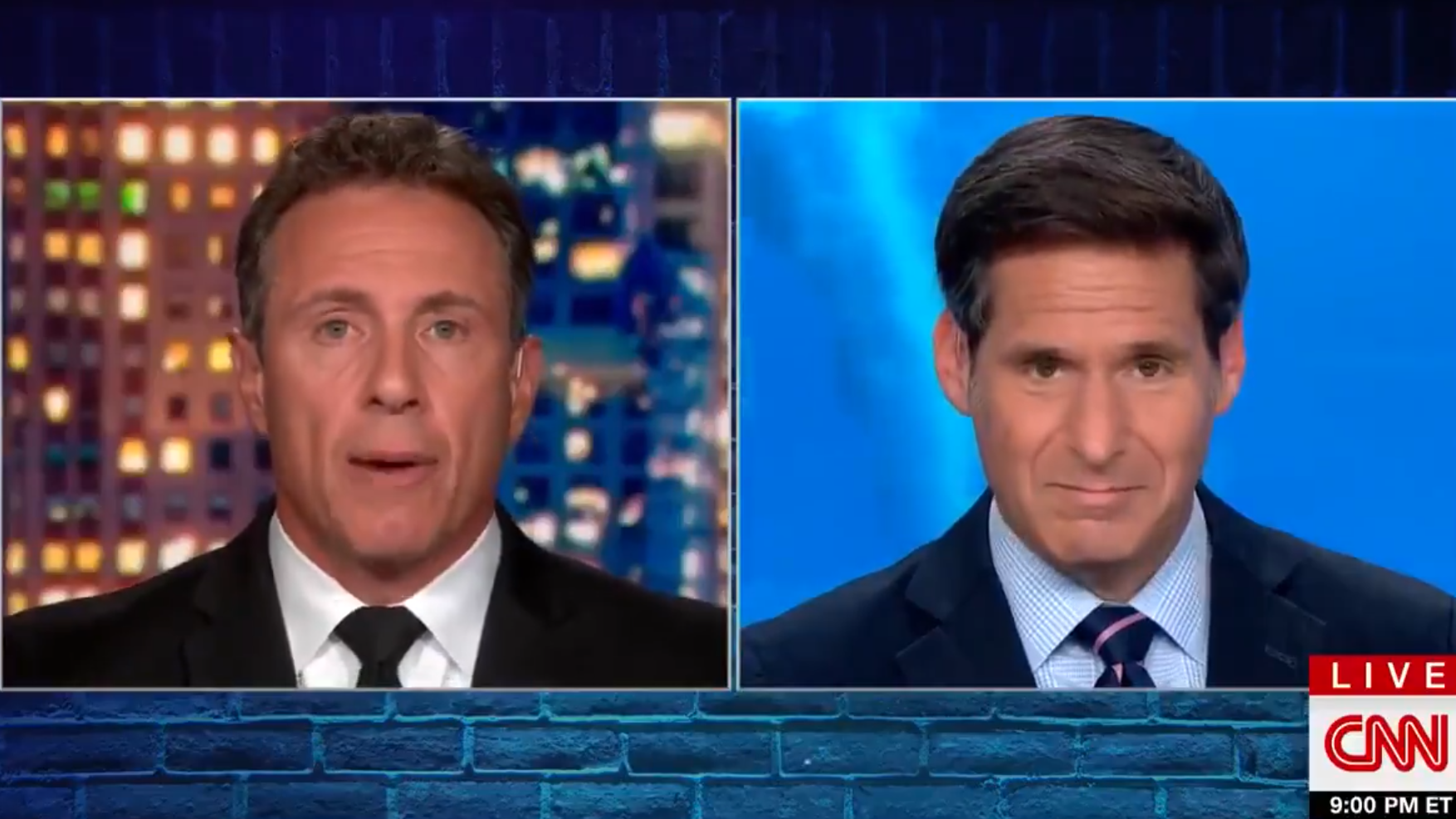 CNN's Chris Cuomo Ignores Developments In Brother's Scandal During Tuesday Night Broadcast