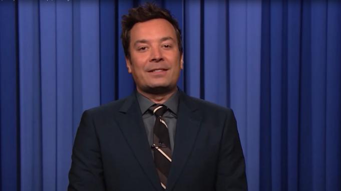 Jimmy Fallon on 'The Tonight Show'