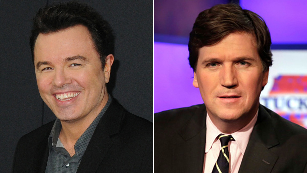 Seth MacFarlane Gripes About 'Family Guy' Airing On Fox Over Comments By Fox News' Tucker Carlson.jpg