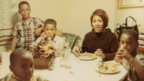 Tina Turner and her children in 1967