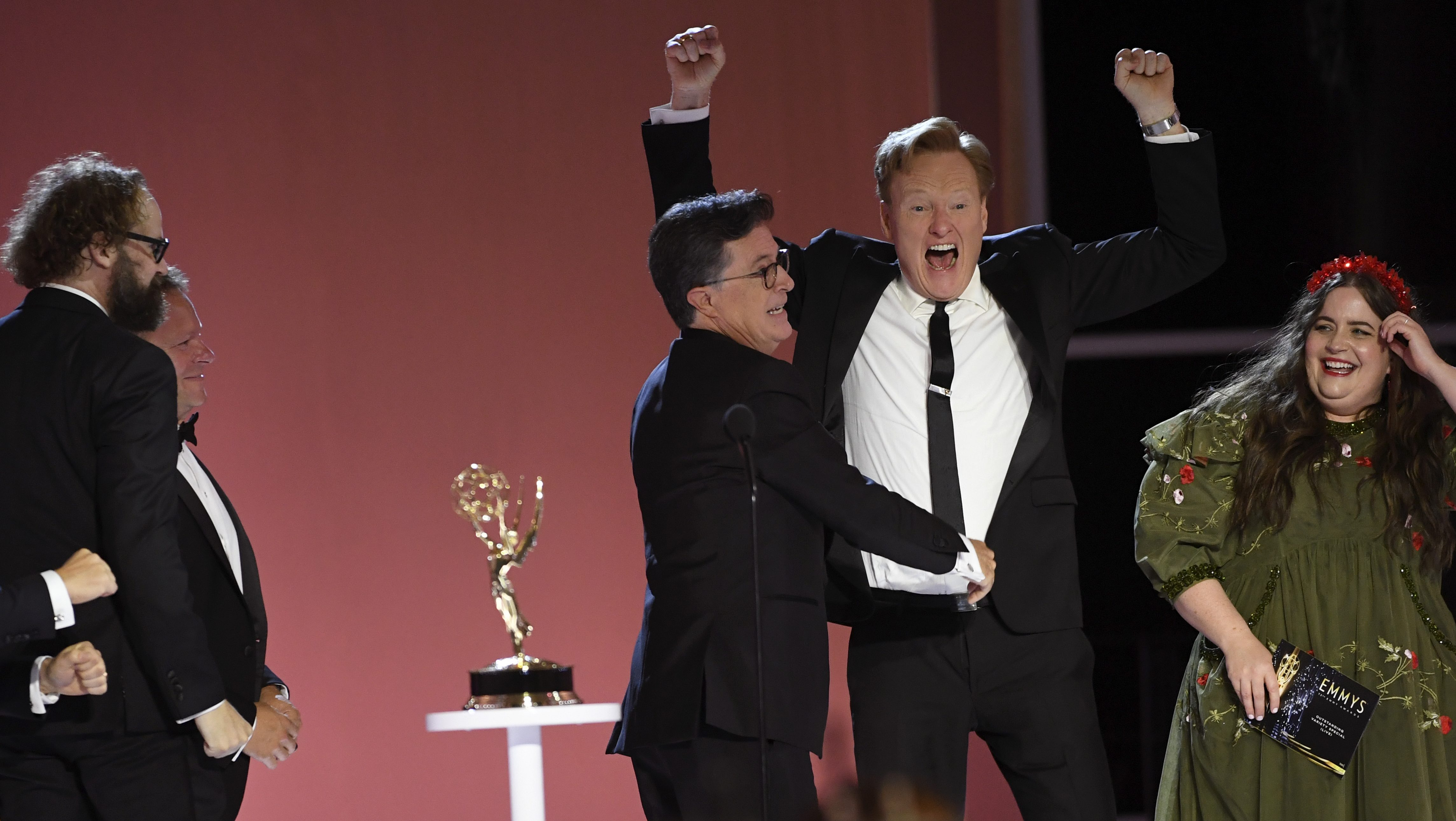 Conan O'Brien, Biz Markie & The Emmy Losers Support Group Among Best Moments Of The 2021 Emmys