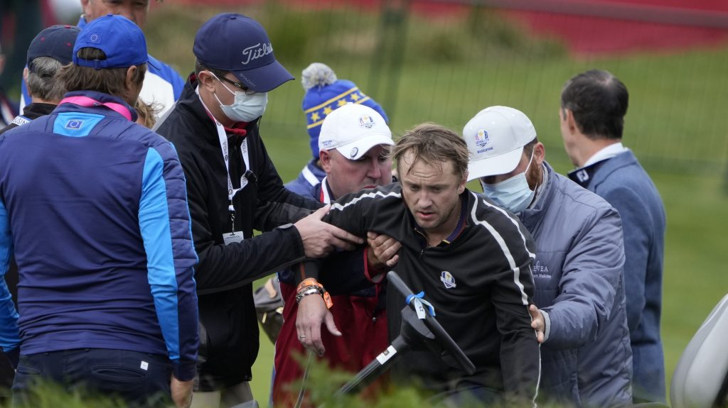 """'Harry Potter' Actor Tom Felton """"On The Mend"""" After Being Carted Off Golf Course Following Collapse – Update - Deadline"""